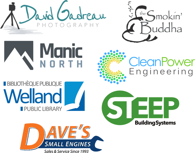 A collection of logos we have designed for clients.