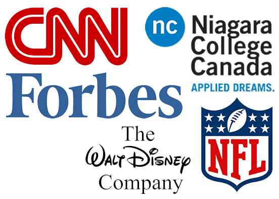 CNN, Walt Disney Company, Forbes, NFL, and Niagara College all use Wordpress as the foundation for their websites.