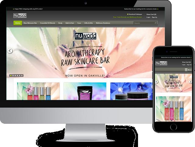 Niagara Web Design. Responsive custom designed websites built with Wordpress.