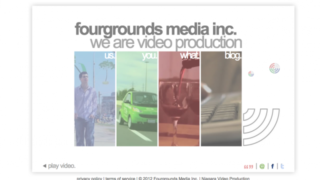Photo of Just Launched Design-to-HTML: Fourgrounds Website