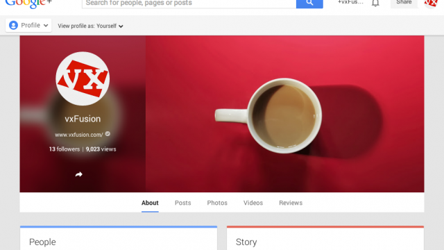 Photo of Google+ for Business?
