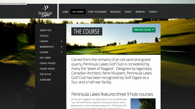Photo of Just Launched: Peninsula Lakes Golf Club