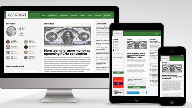 Photo of Just Launched: Canadian Coin News