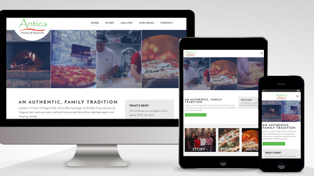 Photo of Just Launched: Antica Pizzeria (WordPress)