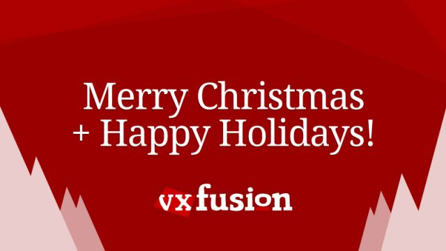 Photo of Happy Holidays from vxFusion!