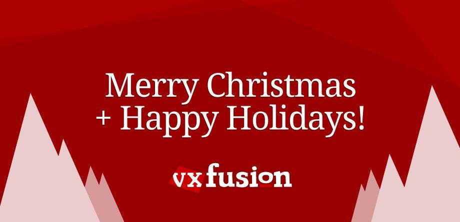 Photo of Happy Holidays from vxFusion!