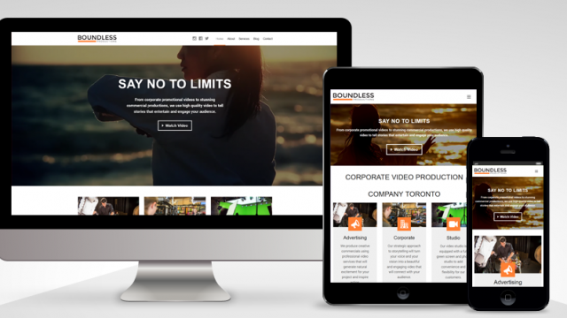 Photo of Just Launched: Boundless Productions (WordPress)