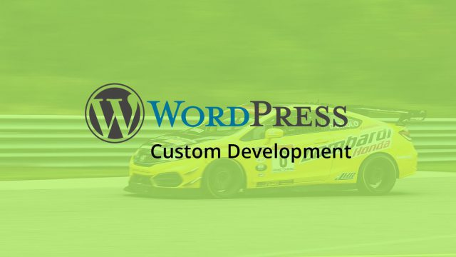 Photo of Custom WordPress Development