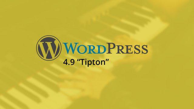 "Photo of WordPress 4.9 ""Tipton"""